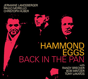Back in the Pan -  CD Cover